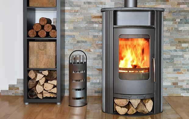 暖炉用の薪
